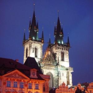 Tyn kirken | Prag