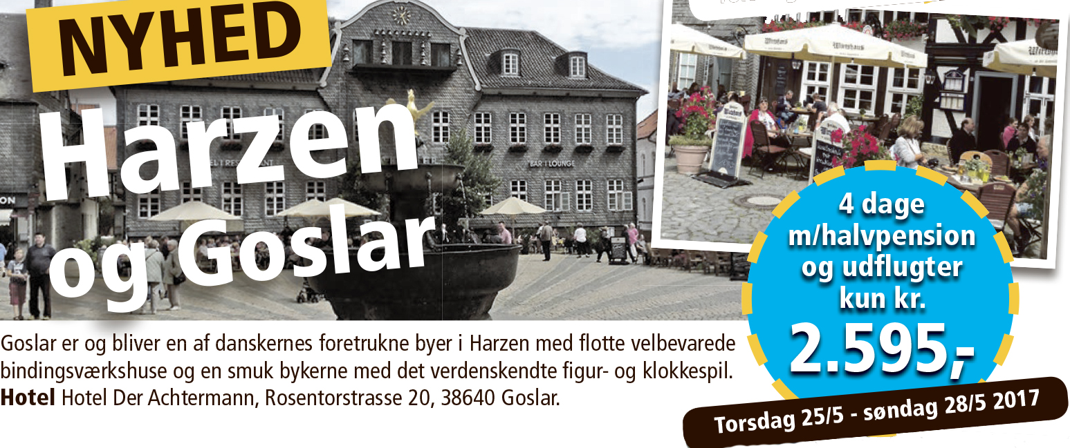 Harzen og Goslar
